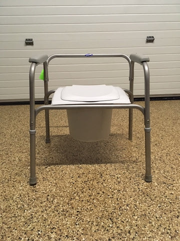 Commode W/lid/spl/sh Remo BACKRES EA
