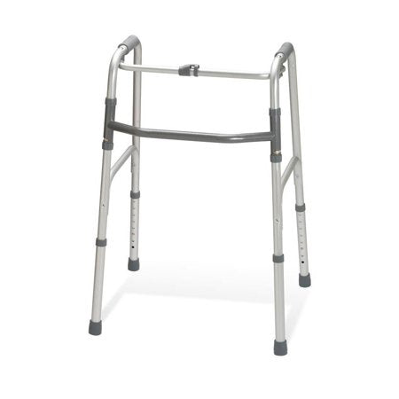 Medline Adult One-Button Folding Walker