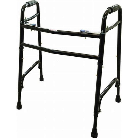 ProBasics Bariatric Two-Button Steel Folding Walker