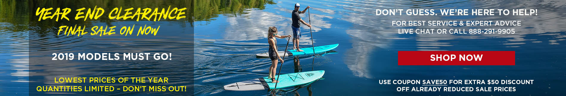 All Terrain Paddle Boards - Clearance Sale