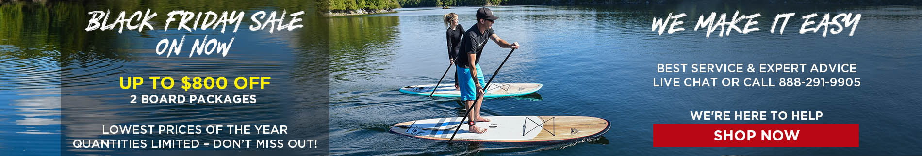 Black Stand Up Paddle Boards