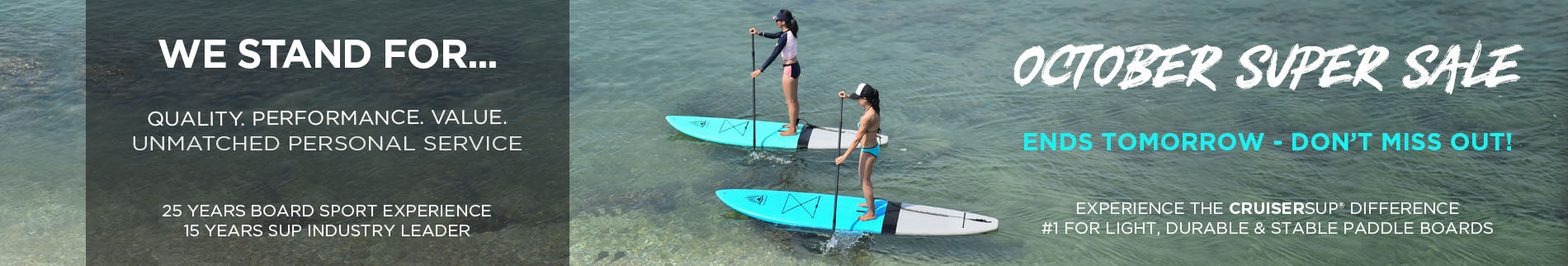 Women's Stand Up Paddle Boards  | Spring Clearance | CRUISER SUP®