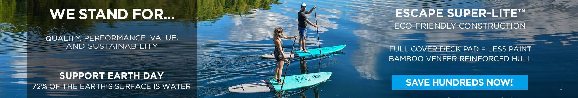 Paddle Boards with Full Wrap Deck Pad
