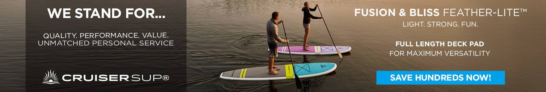 Two Stand Up Paddle Board Packages  | Cruiser SUP® Paddle Board Sale