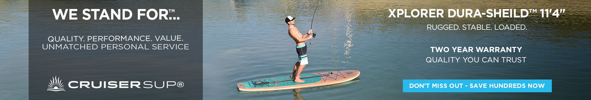 Fishing & Adventure Stand Up Paddle Boards