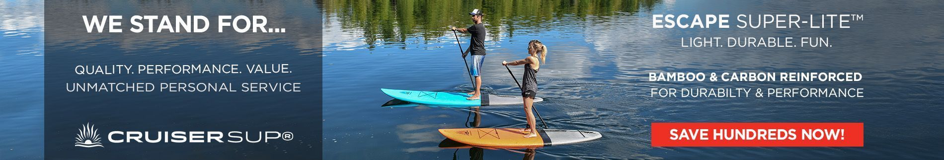 Orange Stand Up Paddle Boards