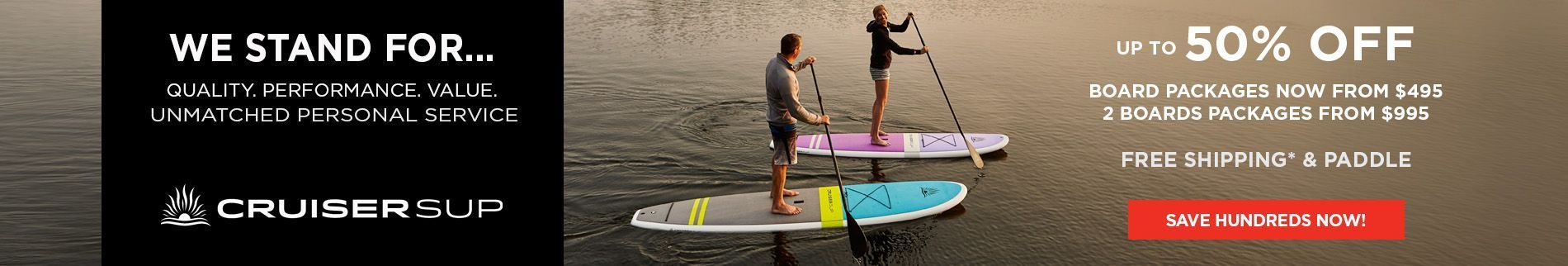Beautifully Finished White Stand UP Paddle Boards