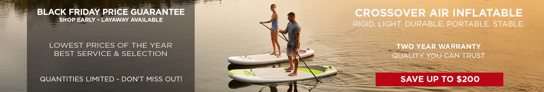 Inflatable Paddle Boards    Summer Clearance