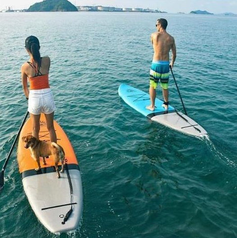 stand up paddle boarding on hard stand up paddle boards