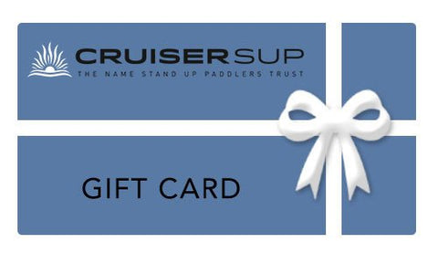 Cruiser SUP Gift Card