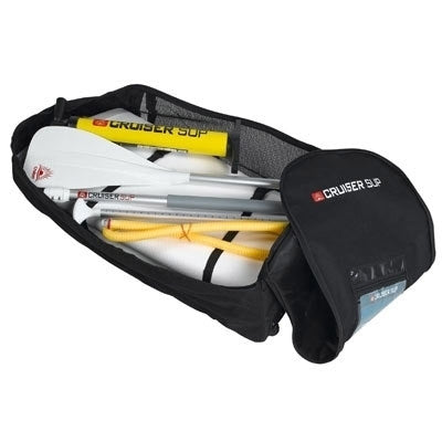 Inflatable Paddle Board in Back Pack