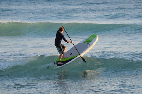 Paddle Boarder on a iSUP