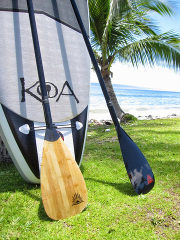 Koa Inflatable Paddleboard with Paddles