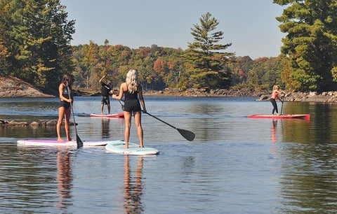 Paddle Boarders in calm conditions