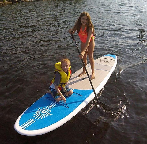 Kids Stand Up Paddle Boarding