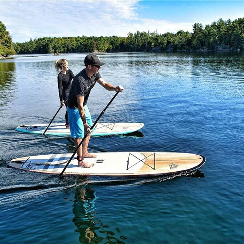 stand up paddle boarding on non-inflatable stand up paddle boards