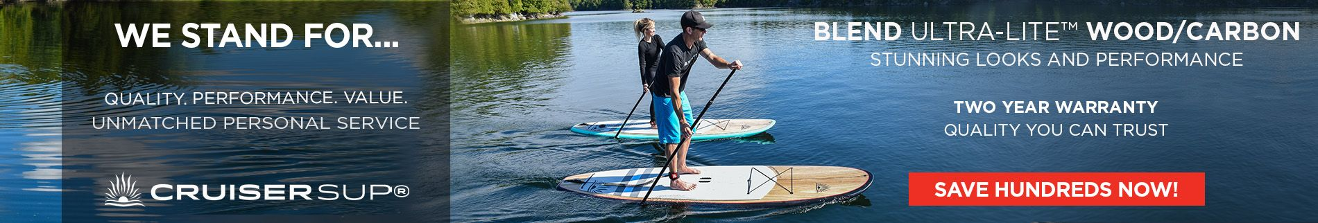 Cruiser SUP Blend We Stand For