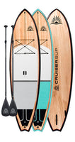 Two ESCAPE LE Wood / Carbon Paddle Board Package