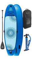 "Balance Air 10'8"" Inflatable Paddle Board Package"