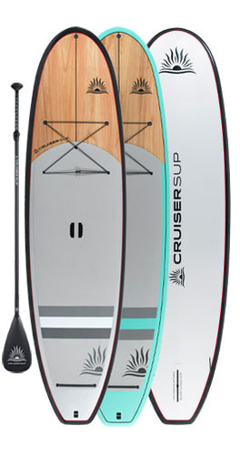 CRUISER SUP® BLEND CLASSIC Wood / Carbon Paddle Board