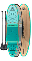 Two CRUISER SUP® BLISS LE Wood / Carbon Paddle Board Package