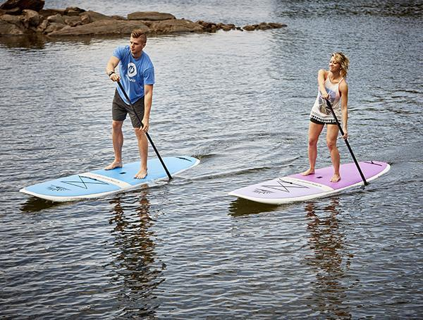 Two CRUISER SUP® BLISS - VOYAGER Paddle Board Package