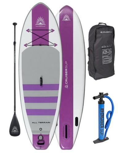 "Two All-Terrain AIR 7'11"" - 11'4"" Inflatable Paddle Board Package"
