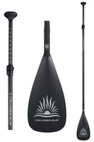 CruiserSUP® 100% Carbon Pro Adjustable Length Stand Up Paddle