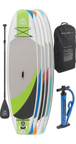 "CruiserSUP®  Crossover Air 9'8""-11'6"" Inflatable Paddle Board Package"