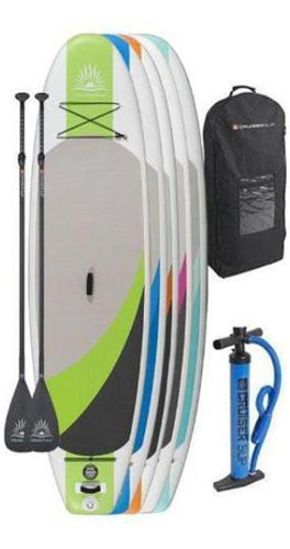 "Two CruiserSUP® Crossover Air 9'8""-11'6"" Inflatable Paddle Board Combo Board Package - Cruiser SUP"