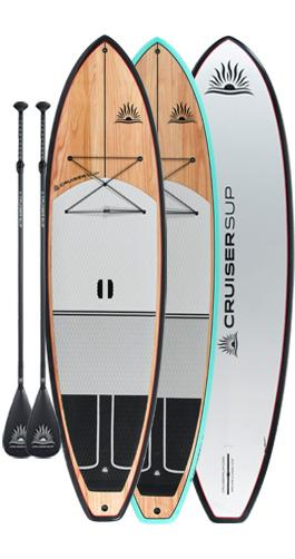 Two CRUISER SUP® ESCAPE CLASSIC Paddle Board Package