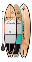 ESCAPE LE Wood / Carbon Paddle Board By CRUISER SUP®