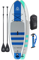 "Two Escape AIR 10'8"" Inflatable Paddle Board Package"