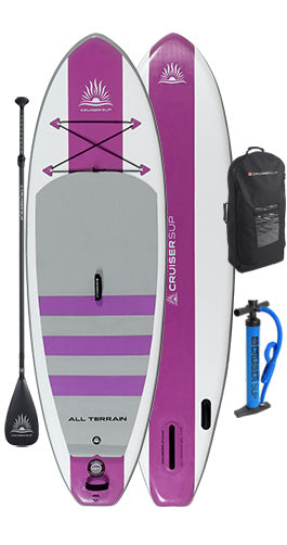 "CruiserSUP® Escape AIR 10'8"" Inflatable Paddle Board"