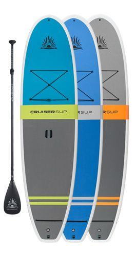 "CruiserSUP® Fusion Feather-Lite 10'-11'6"" Paddle Board - Full Deck Pad - Cruiser SUP"