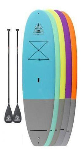 "Two CruiserSUP® Performer Dura-Soft 10'6"" or 11' Paddle Board Package"