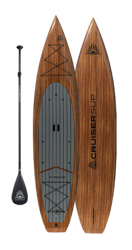 "Two CRUISER SUP® V-MAX 11'6"" Woody Touring Paddle Board"
