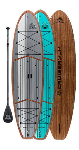CRUISER SUP® XPEDITION LE Woody Paddle Board Package