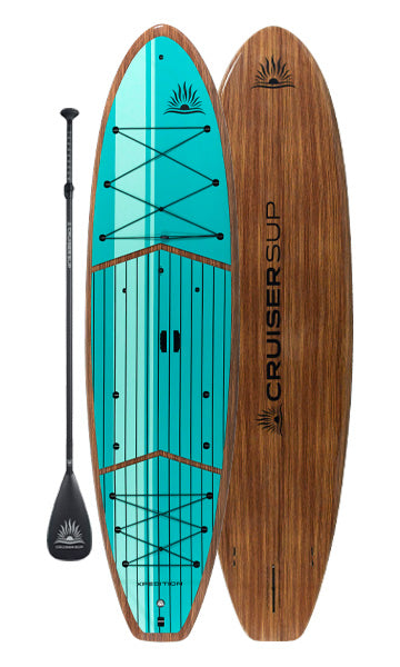 XPEDITION Woody Paddle Board Package By CRUISER SUP®