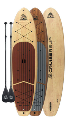 Two Cruiser SUP® Xplorer Stand Up Paddle Boards