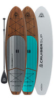 XPLORER Classic Woody Paddle Board Package By CRUISER SUP®