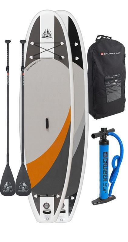 "Two Cruiser SUP Crossover Air DL 10'2"" - 11'6"" Double Layer Inflatable Paddle Board Combo Board Package"