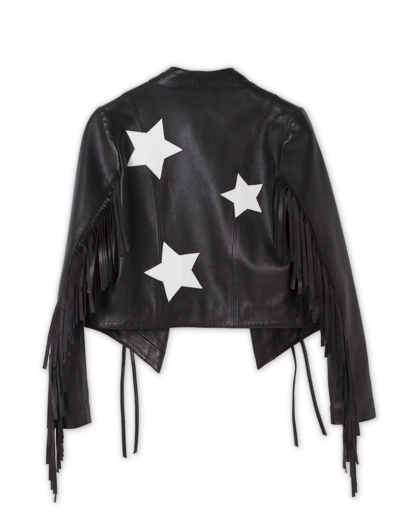 Rock Stars Jacket White