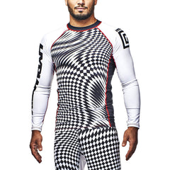Checker Vortex L/S Rash Guard