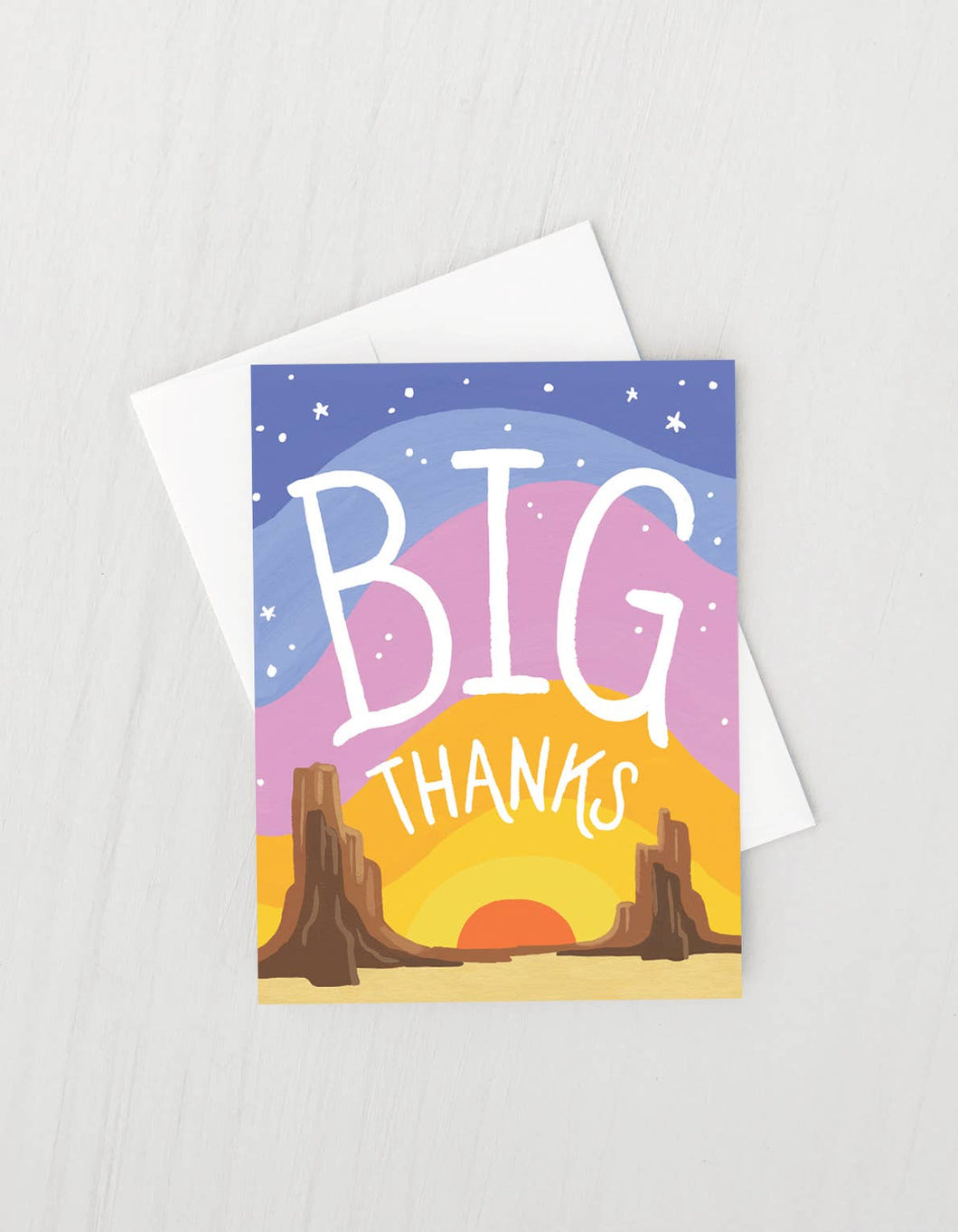 Big Thanks Card - Boxed Set