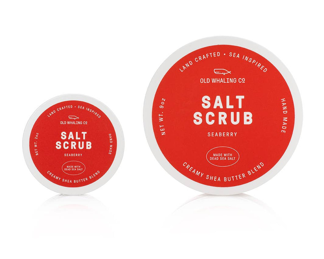 Seaberry Travel-Size 2oz Salt Scrub