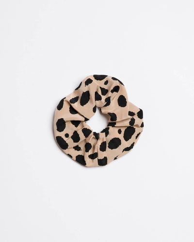 Silk Charmeuse Printed Scrunchie