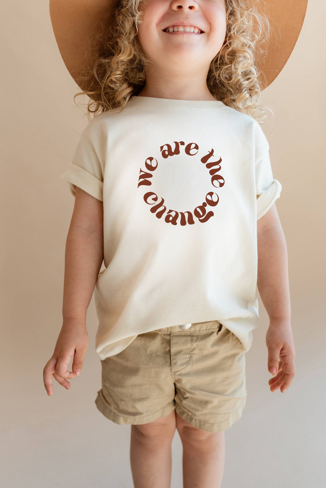We Are The Change Kid/Toddler Tee