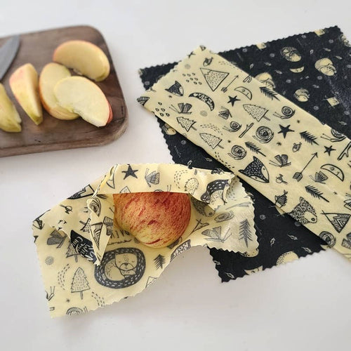Beeswax Food Wrap: Forest Critters