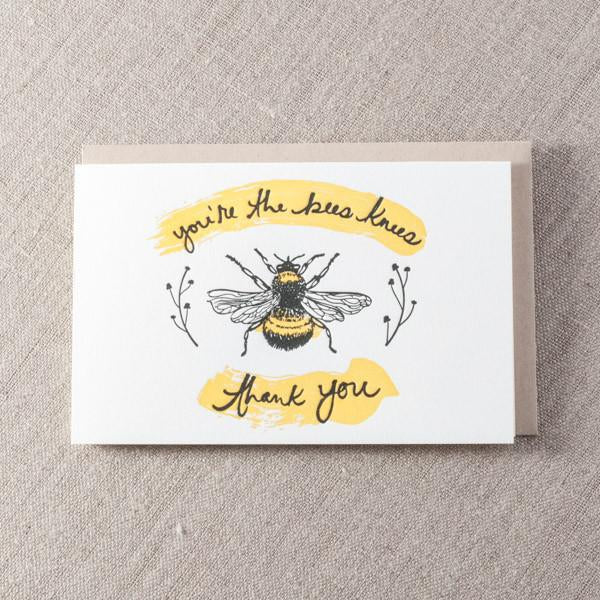 Bees Knee's Card